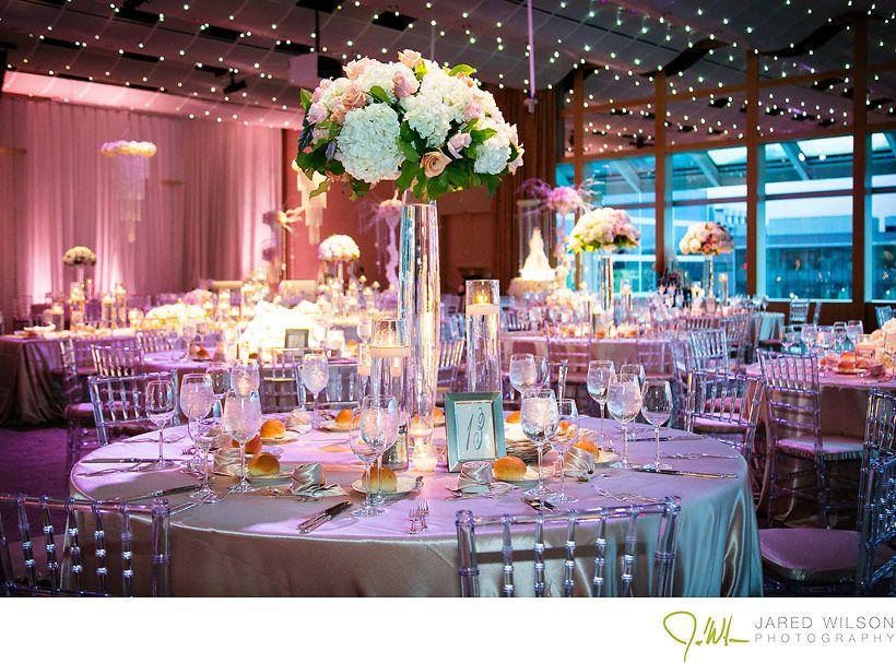 Wedding Reception At Seawell Grand Ballroom