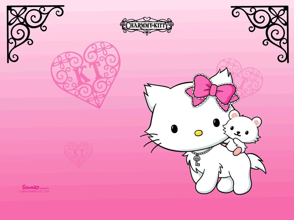 New wallpaper added at Background Wallpapers - Hello Kitty Background Wallpaper