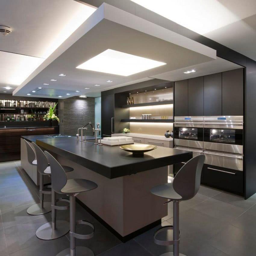 Cocina americana 2019 de 70 fotos ecoraideas - Fotos de cocinas americanas ...