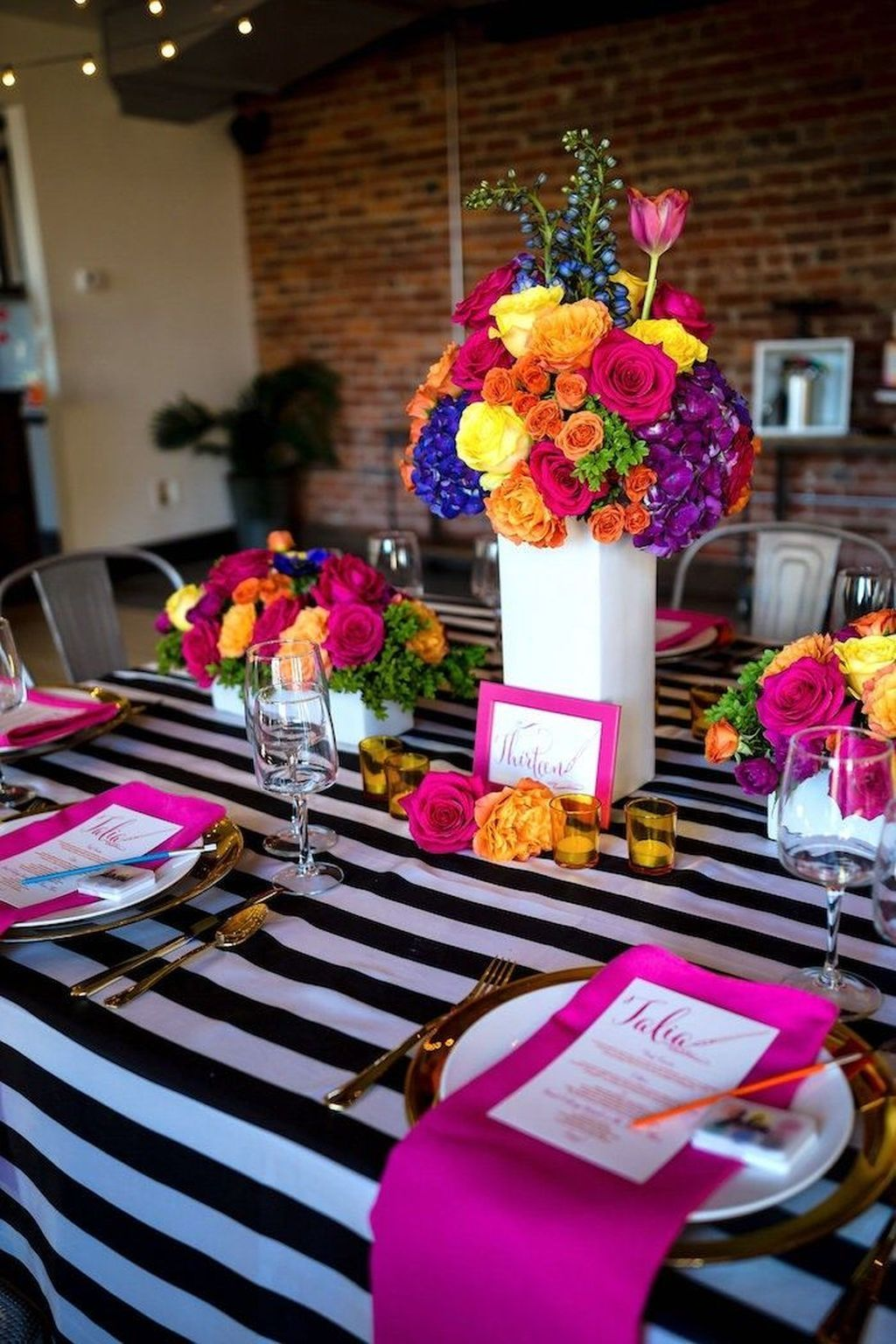 wonderful party table decorations ideas also best images in th birthday rh pinterest