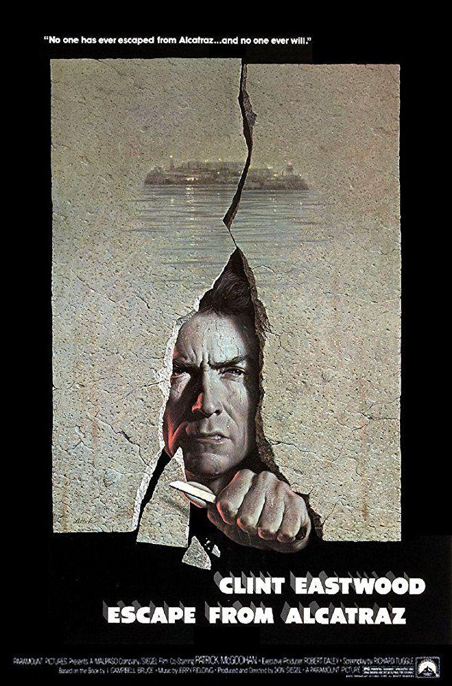 Escape From Alcatraz 1979 Imdb Eastwood Movies Clint
