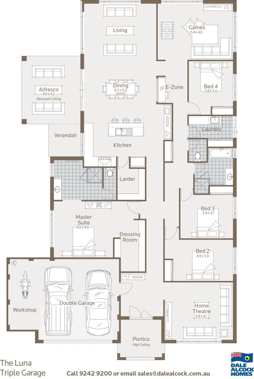 Good Economical Floor Plan House Plans Floor Plans Building A House