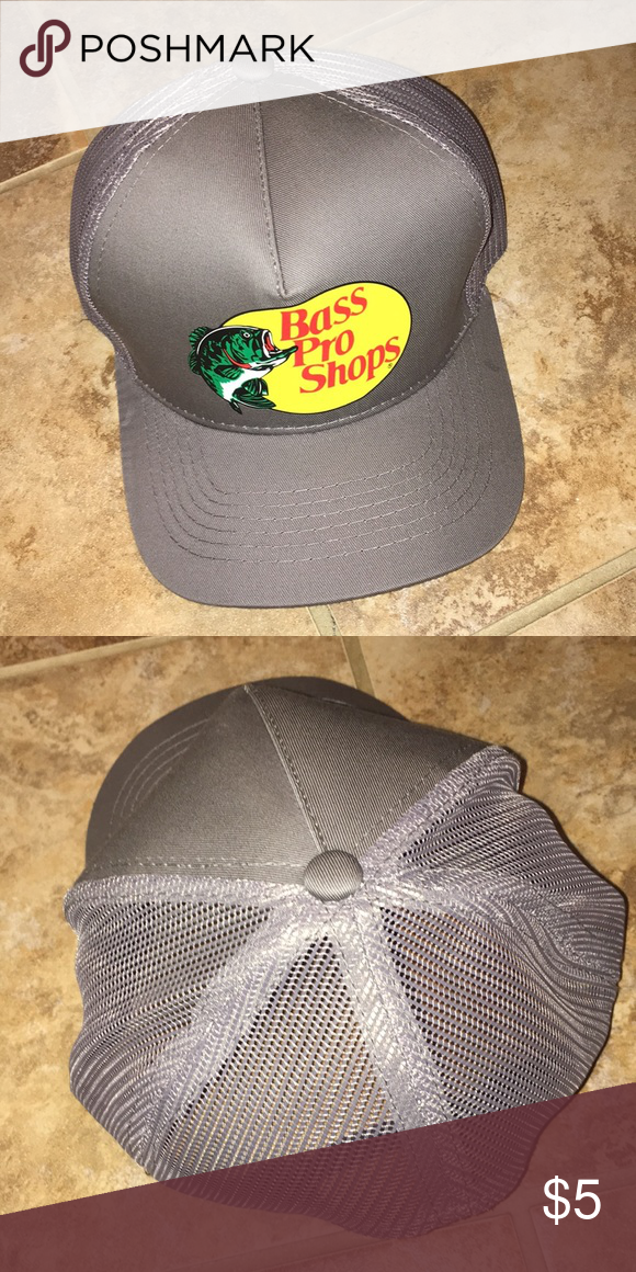 NWOT BASS PRO SHOP TRUCKER HAT Brand new! Mesh back SnapBack e90907b37af