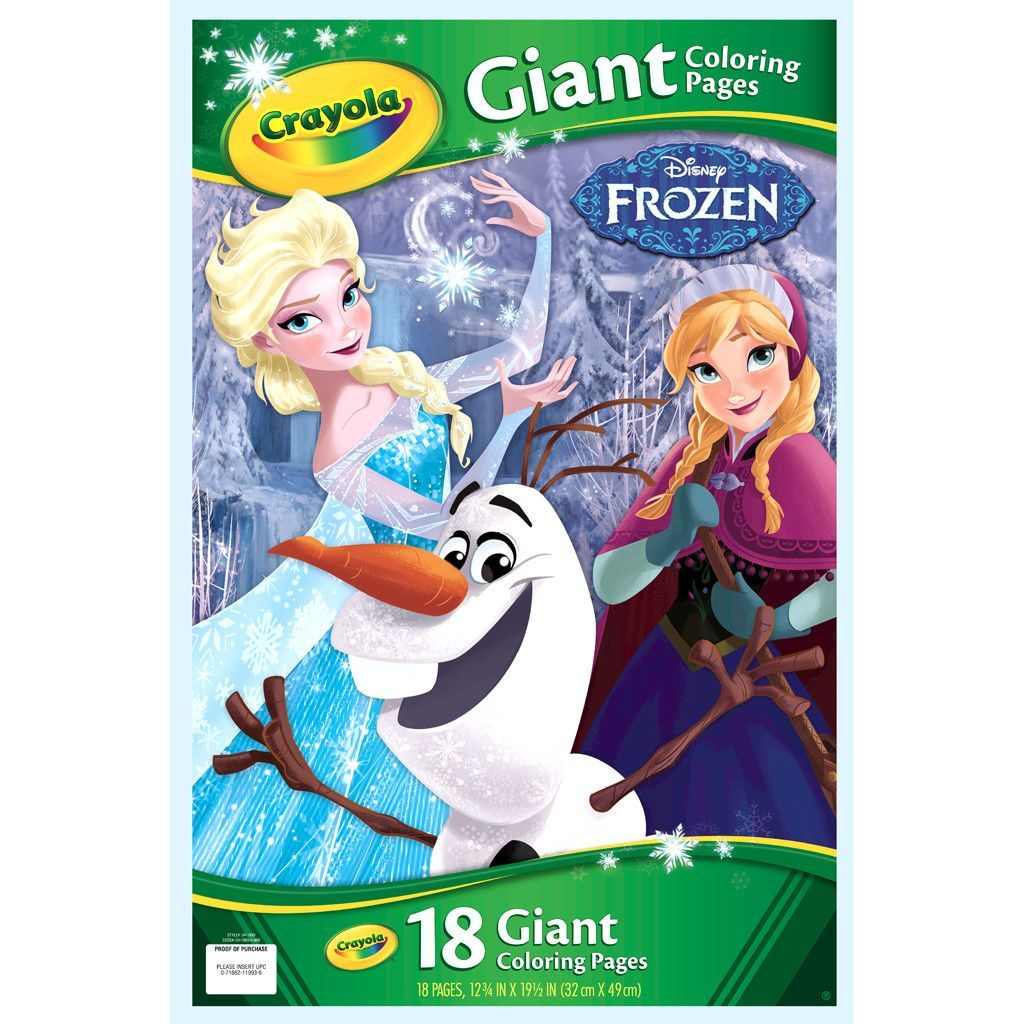 Crayola Frozen Mini Coloring Pages 04 5062