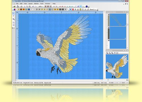 Marvelous my editor FREE embroidery software I have been using this software for about years