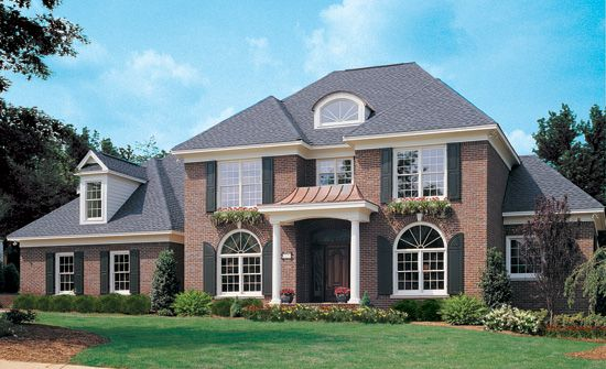 The Santerini House Plan Images See Photos Of Don Gardner House Plans 2255 868front Colonial Style Homes House Plans House