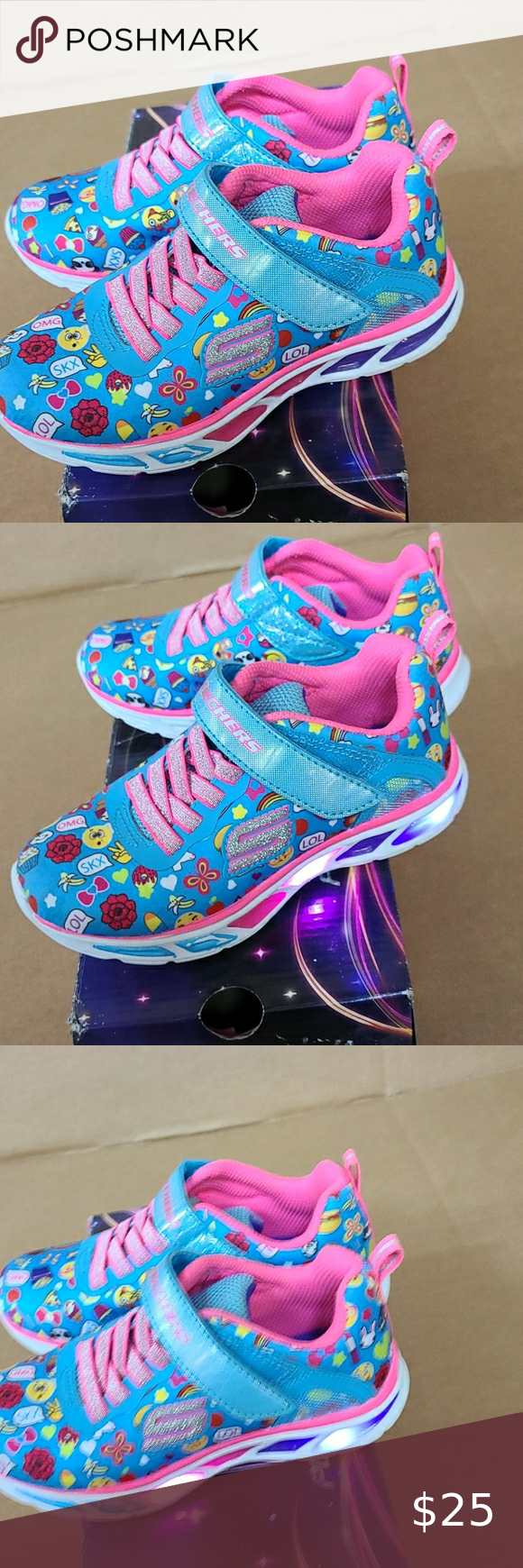 Skechers light up shoes new with slight