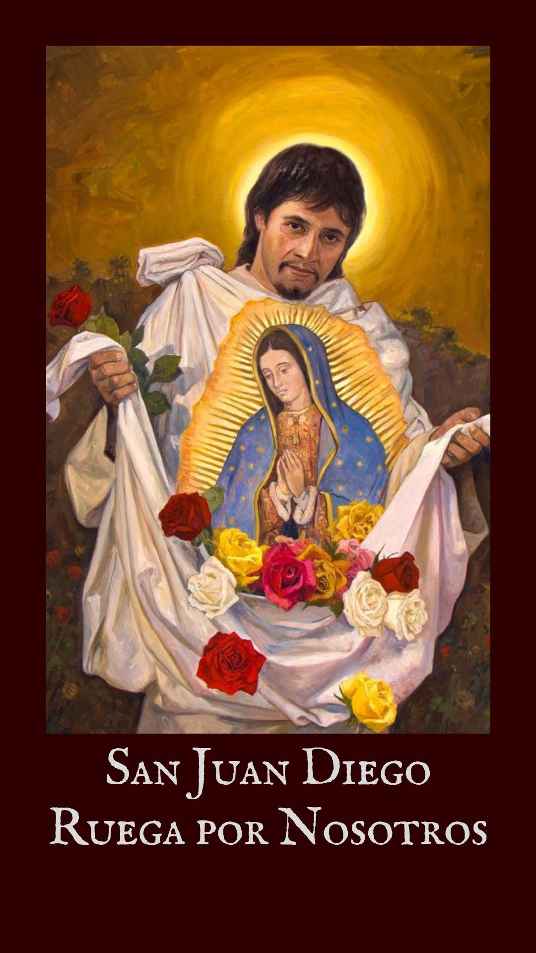 San Juan Diego Virgen De Guadalupe San Juan Diego Arte Catolico