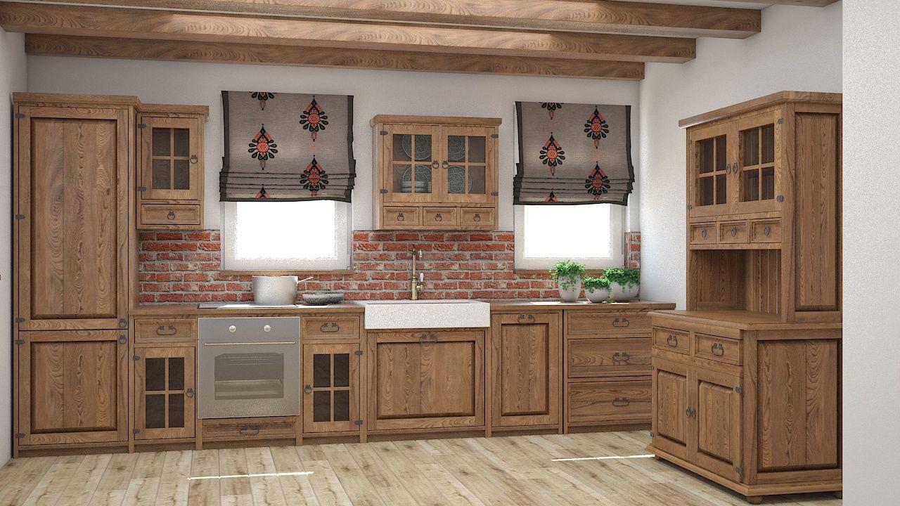 Inspiracje Kuchnia Meble Woskowane Home Decor Provence Style Kitchen Cabinets