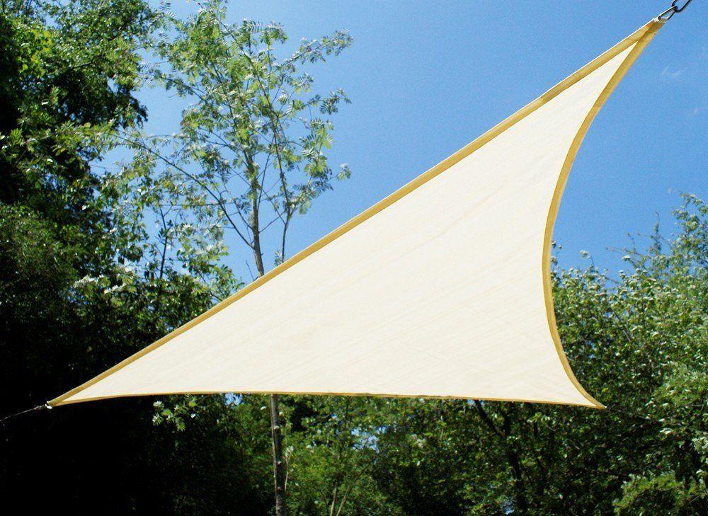 Le vele da giardino sono. Tende A Vela Kookaburra Triangolare 5 0m Avorio Intrecciata Traspirante Amazon It Giardino E Giardinaggio Tenda A Vela Tenda Da Sole A Vela Pergola
