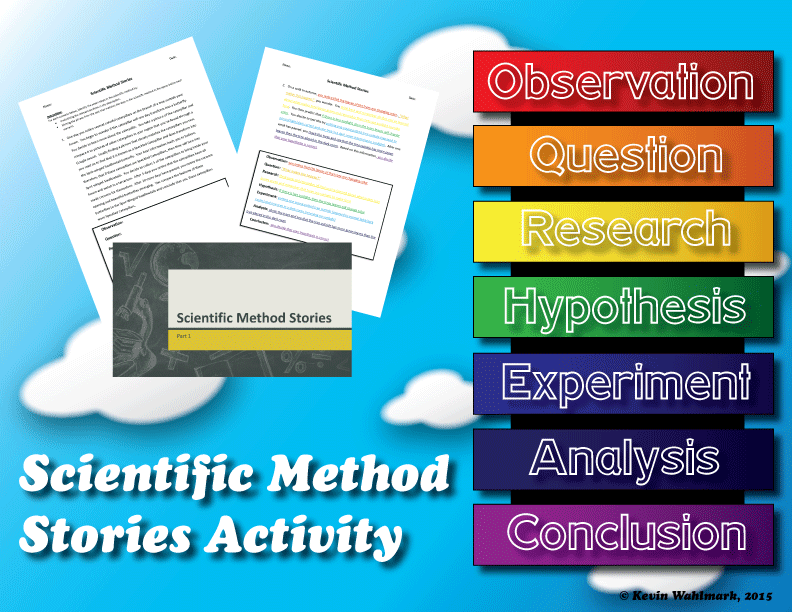 Scientific Method Stories Activity Scientific Method Story Activities Scientific