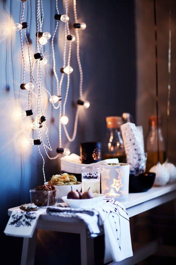 Ambiance cosy IKEA Noël 2016  http://www.homelisty.com/ikea-noel-2016/
