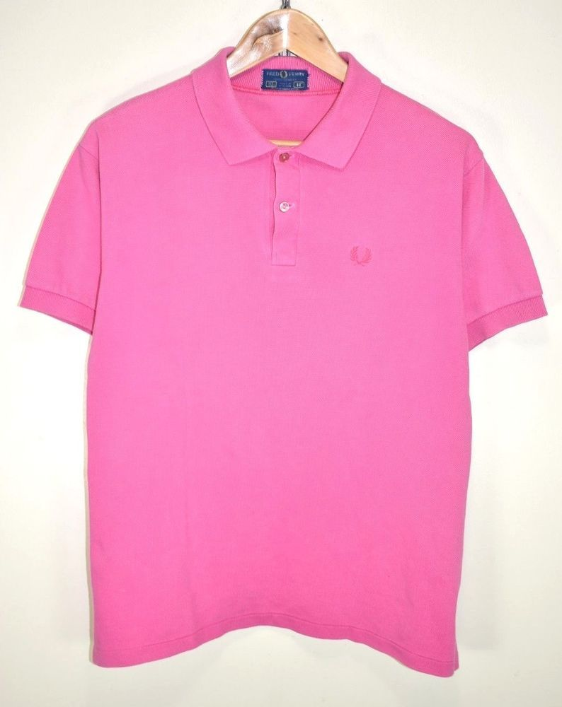 7afa6303f FRED PERRY VINTAGE 80s MOD SKINS PUNK RETRO SHORT SLEEVED POLO SHIRT size  LARGE #fashion #clothing #shoes #accessories #mensclothing #shirts (ebay  link)