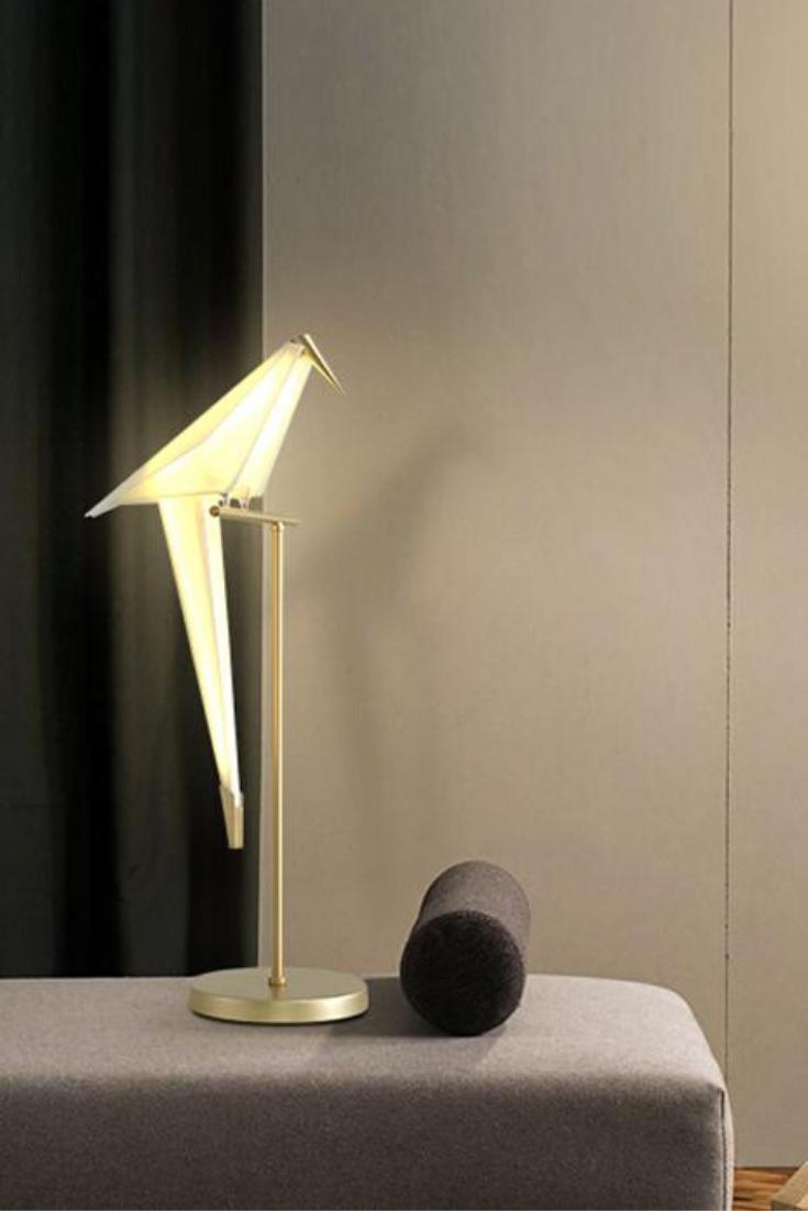 Edie Birds Lamp Rustic Floor Lamps Lounge Lighting