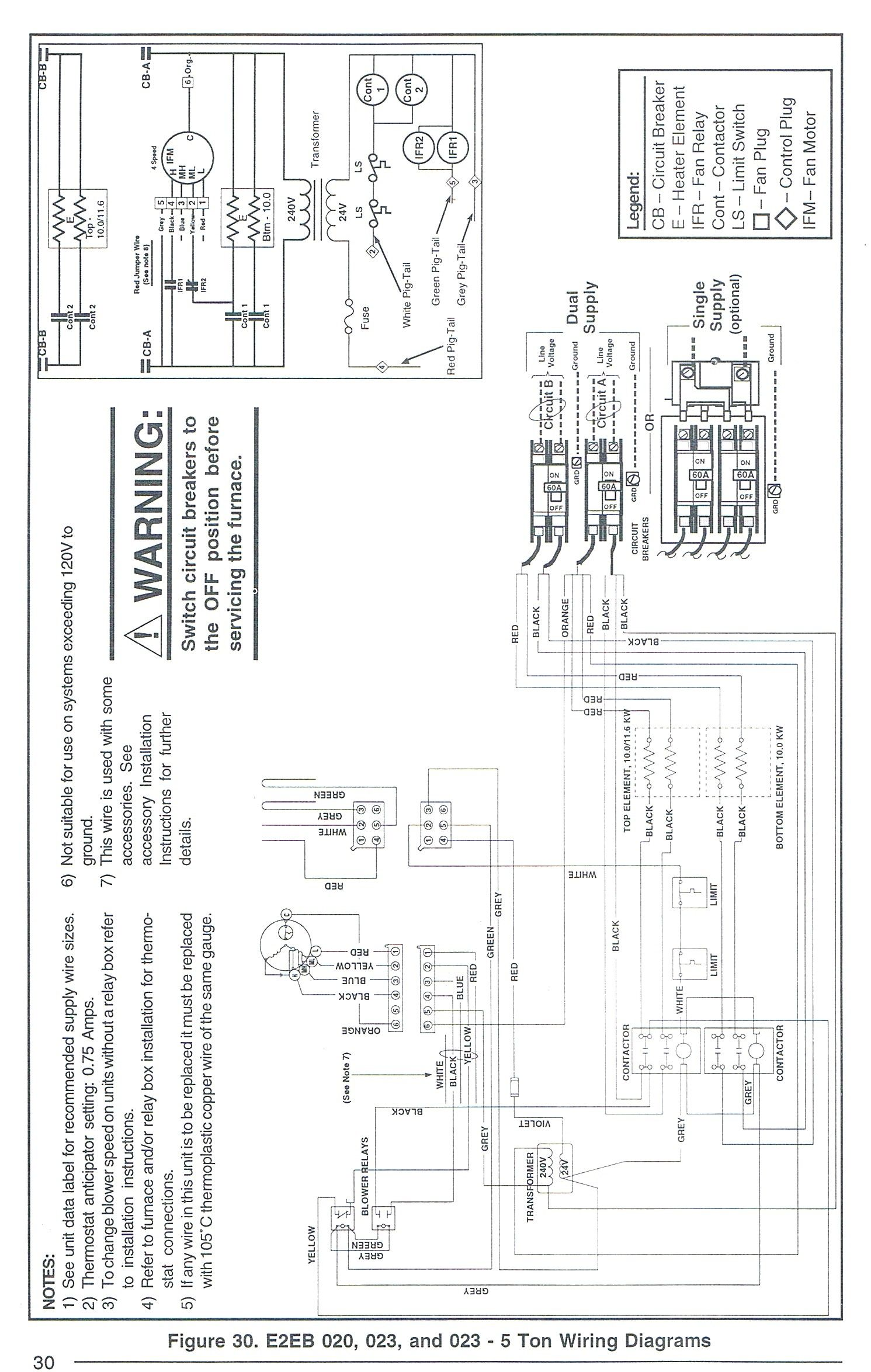 Unique Westinghouse Electric Furnace Wiring Diagram