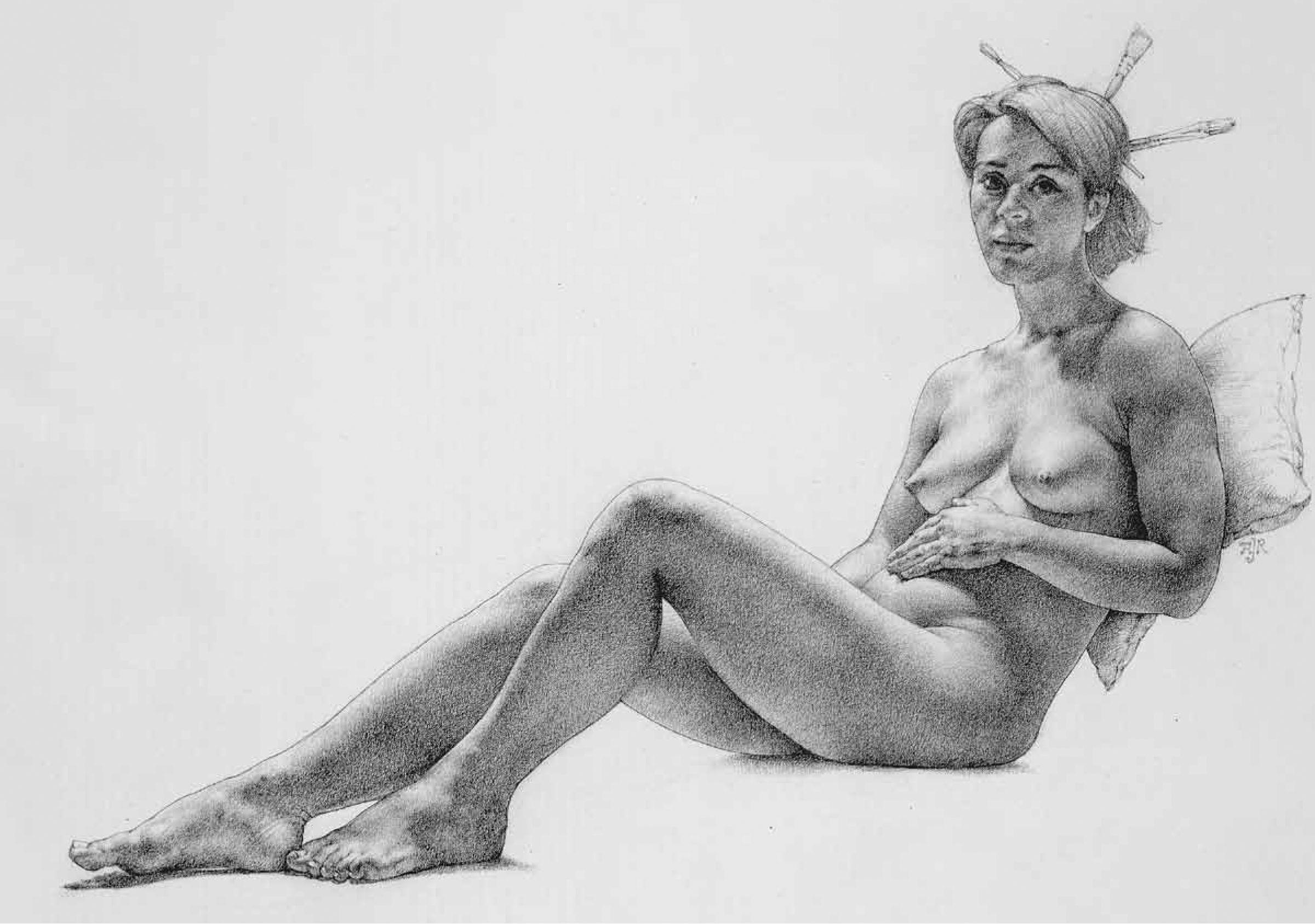 Busty artistic nude ladies
