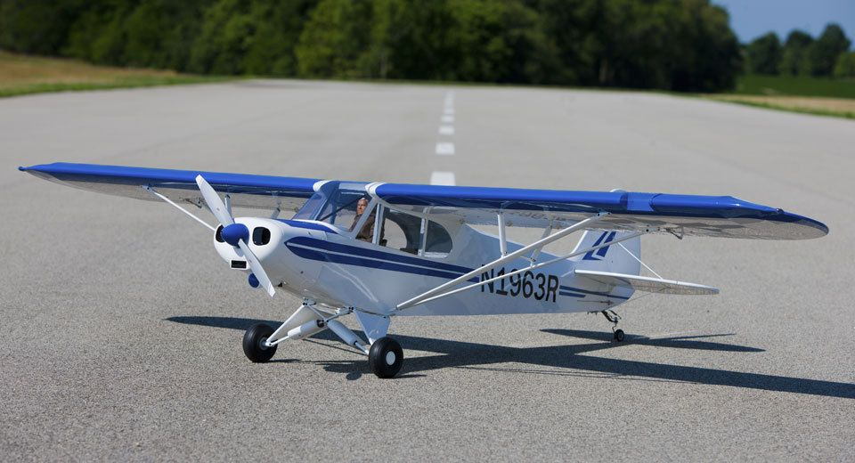 Hangar 9 1/4-Scale PA-18 Super Cub ARF Gas/Electric RC Airplane