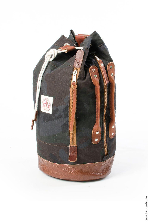 217b58105e5d Купить Рюкзак-вещмешок на одной лямке Duffel Pack - хаки, рюкзак, рюкзак  ручной