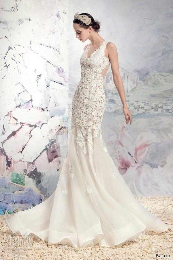 "Papilio 2016 Wedding Dresses — ""Swan Princess"" Bridal Collection ..."