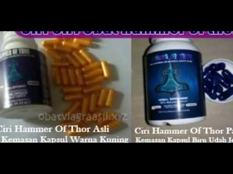 tips membedakan ciri ciri obat hammer of thors asli dan palsu