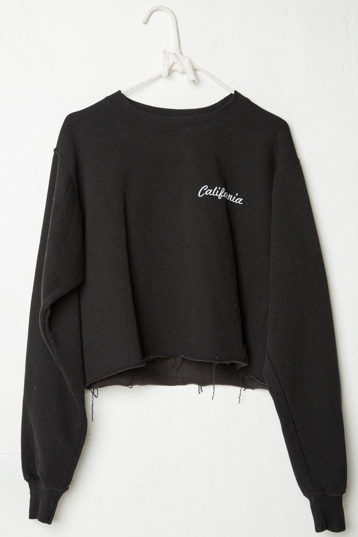 Nancy California Embroidery Sweatshirt Graphics Clothes Sweatshirts Fashion [ 1500 x 1000 Pixel ]