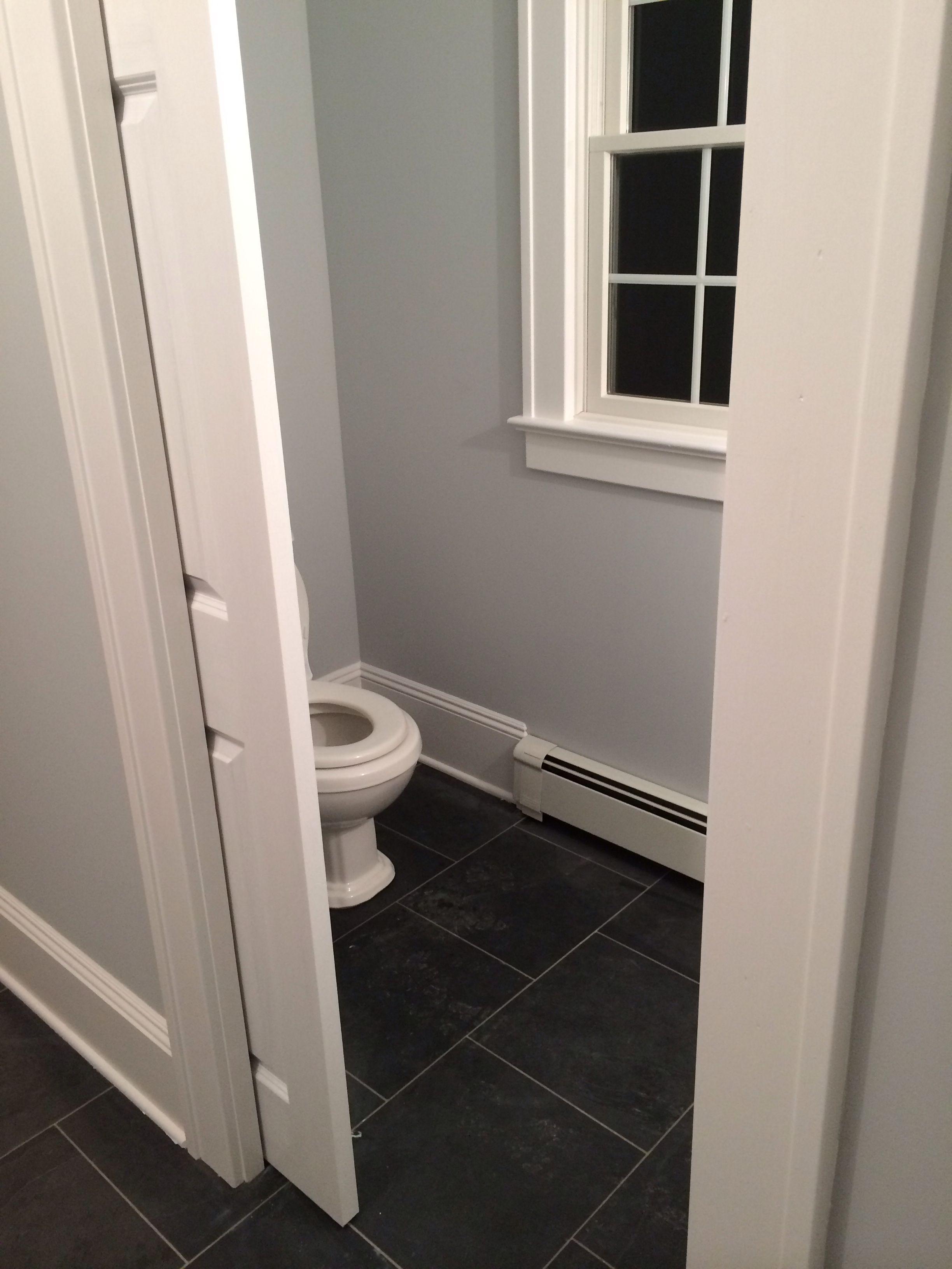 Pin By Catherine Desarno On Home Pocket Doors Bathroom Small Half Baths Small Half Bathrooms