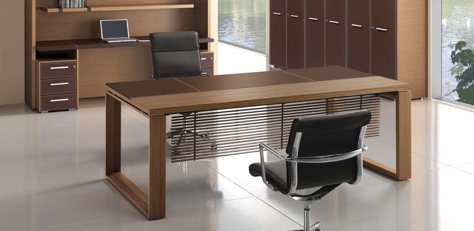 Executive desk Arche by Bralco | Pinterest | Office desks, Desks and ...