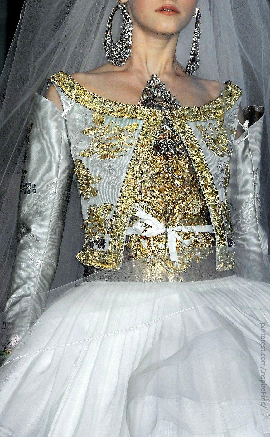 Couture Christian Lacroix (Details) | wedding dress ...