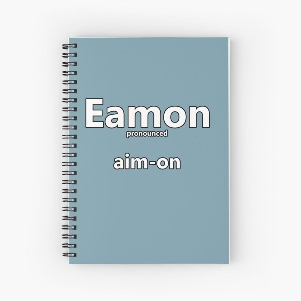 'Eamon - how to pronounce this Irish boys name' Spiral ...