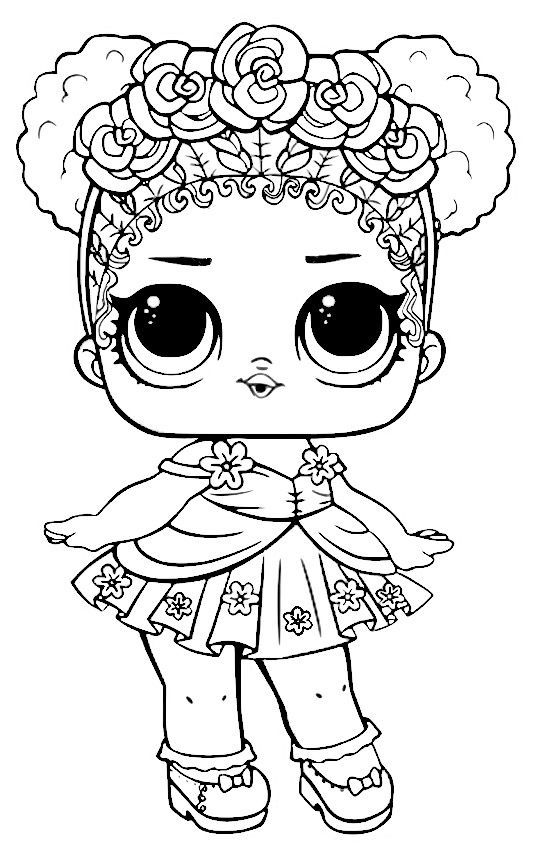 LOL Dolls Coloring Pages Unicorn coloring pages, Cute