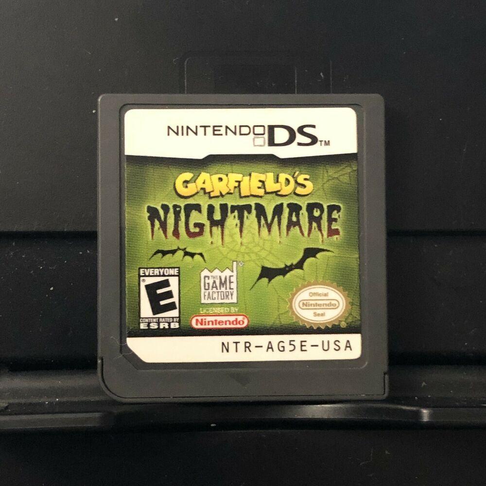 Nintendo Ds Dsi 3ds 2ds Garfield S Nightmare Game Only Nintendoswitch Nintendo Switch Nintendo Ds Dsi Nintendo