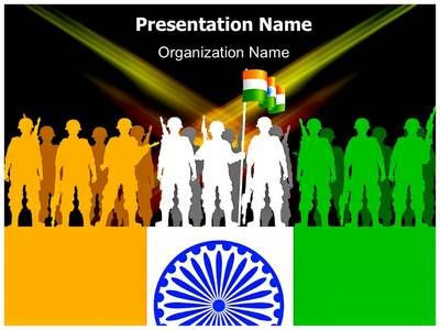 indian army powerpoint template is one of the best powerpoint, Modern powerpoint