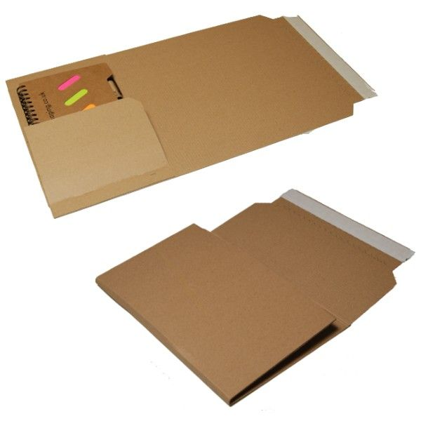 book wrap mailers cardboard