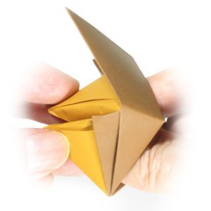 Photo of How to make a traditional talking origami fox: page 13