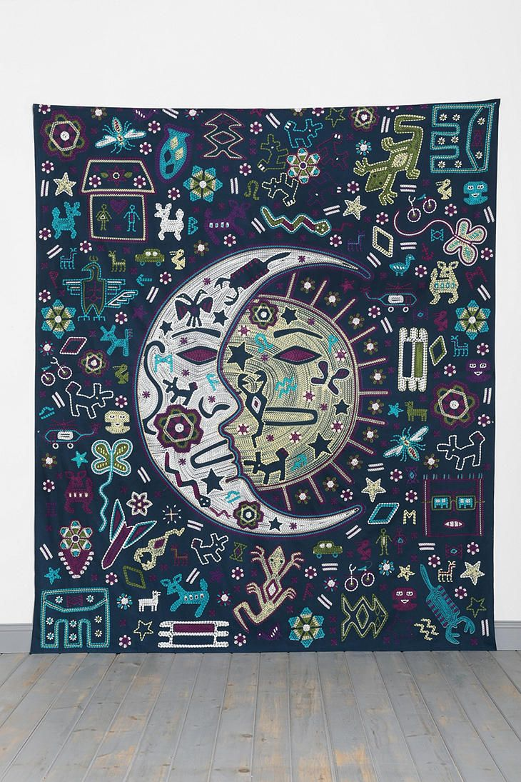 Magical Thinking Mystic Folk Tapestry Urban Outfitters