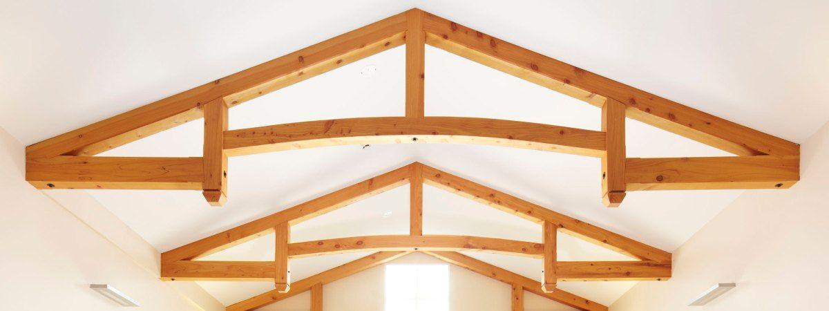 Timber Frame Construction Exposed Frames And Trusses Nz Roof Truss Design Roof Trusses Timber Frame Construction