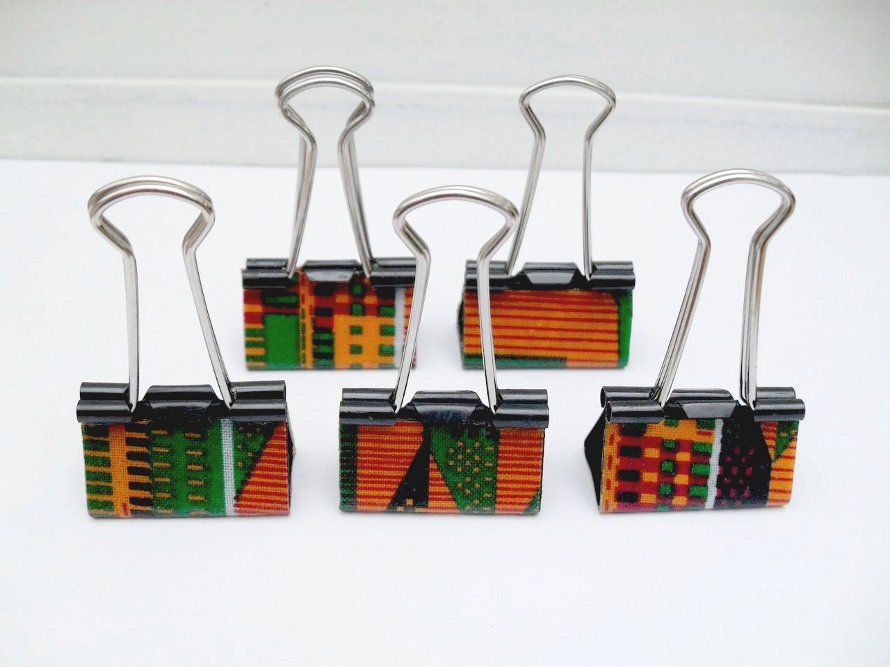 Wedding Reception Table Markers - Add place cards on these kente ...