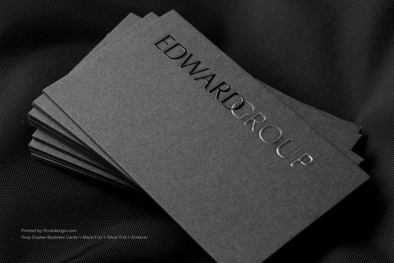 Grey Business Card Design 8 Foil Business Cards Copper Foil Business Cards Business Card Design Creative