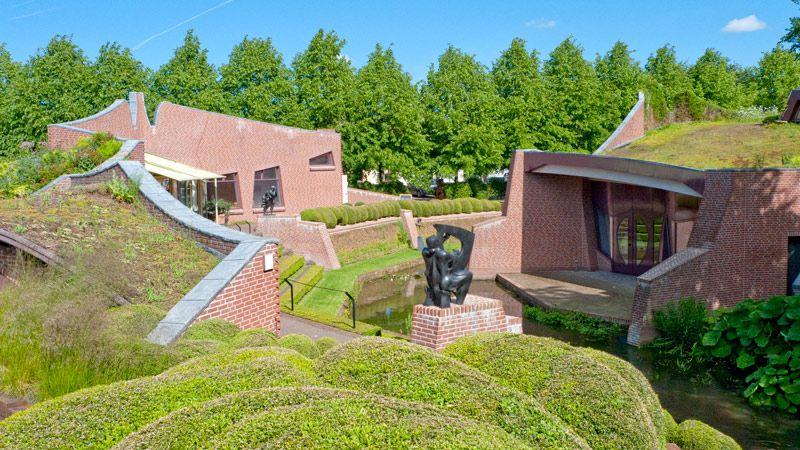 Museumpaviljoen | Museum De Buitenplaats, bouw voltooid in 1996.