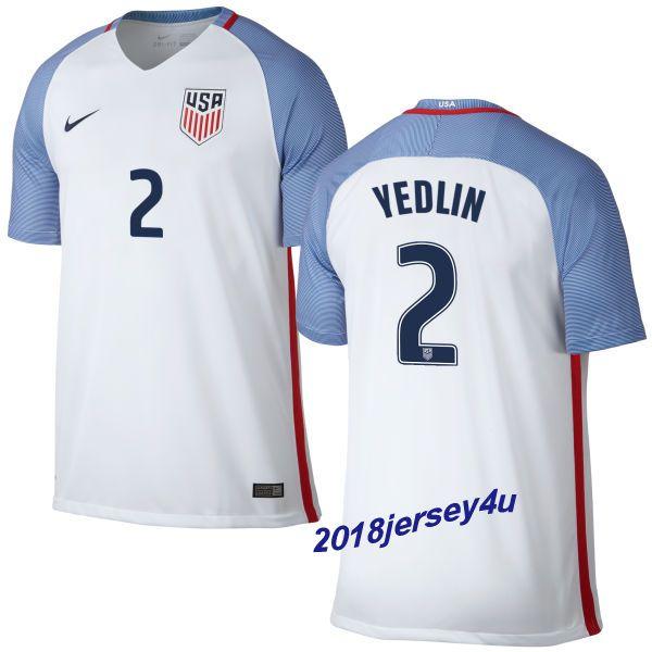 a7a7e09d3 ... deandre yedlin 2 2016 copa america centenario usa mens home soccer  jersey