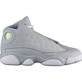 low priced 8564b beb1a Girls Jordan Retro 13 - Preschool Basketball Shoes Wolf Grey ...