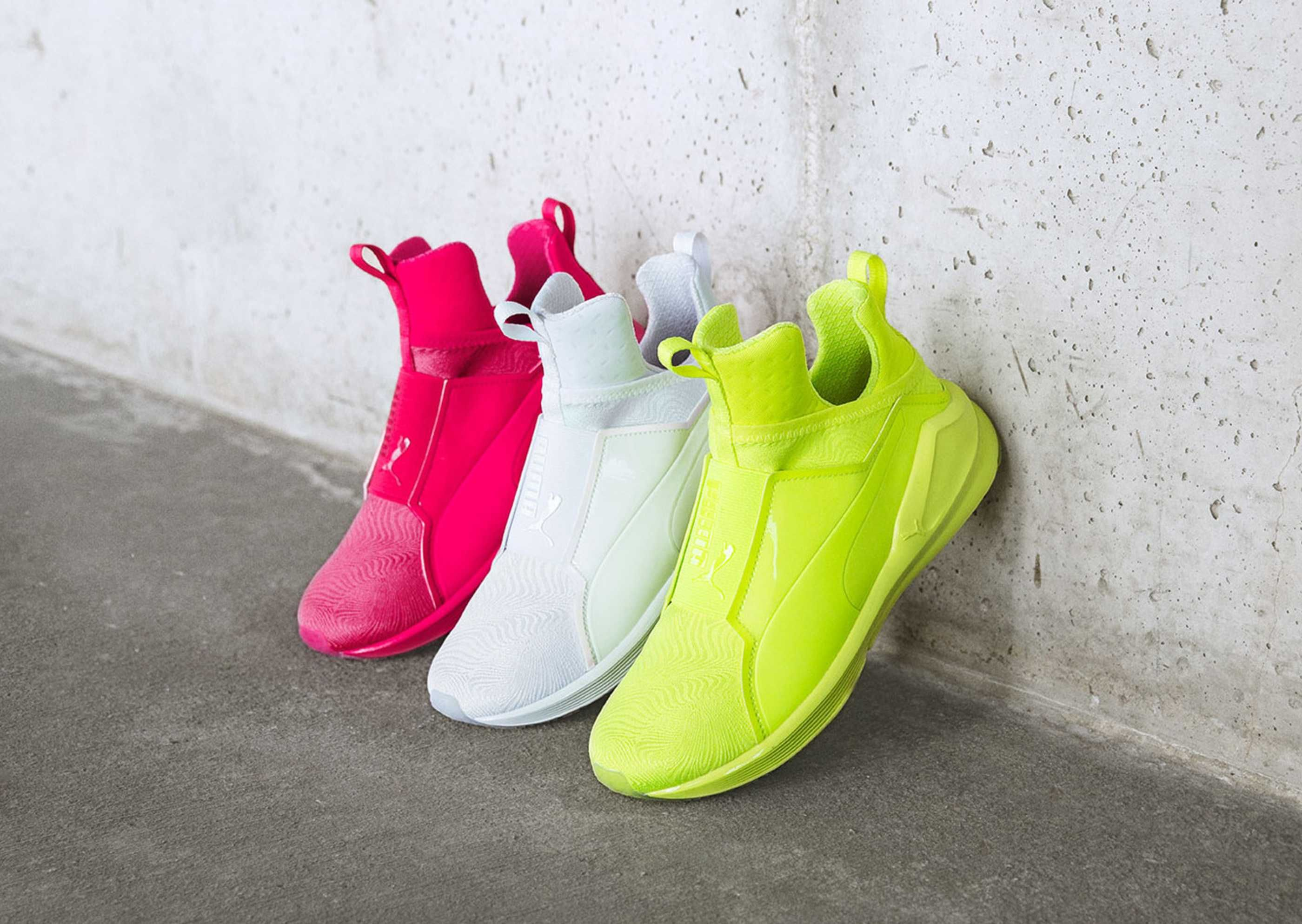 aa92d175b Fluorescent Tones Inform the PUMA Fierce
