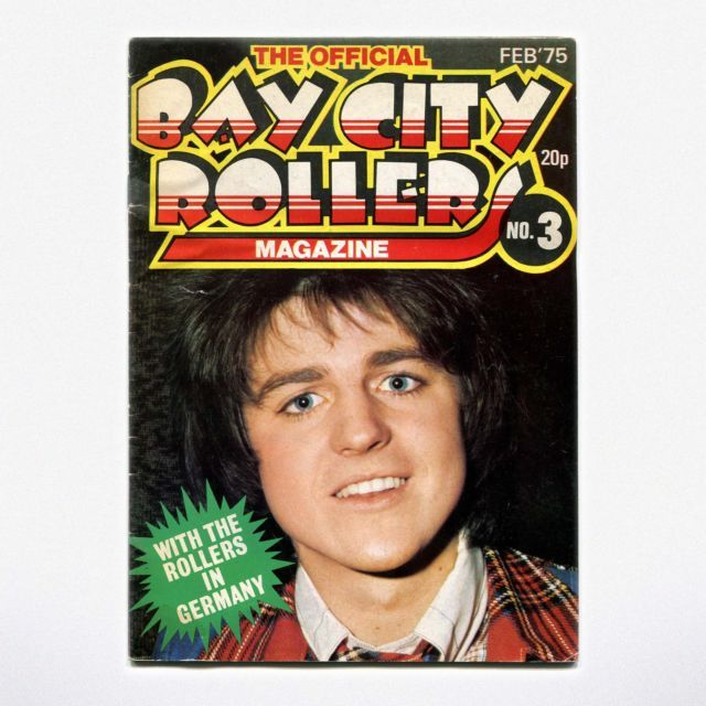 THE OFFICIAL BAY CITY ROLLERS MAGAZINE - no. 3 ( Feb.1975 ) | eBay