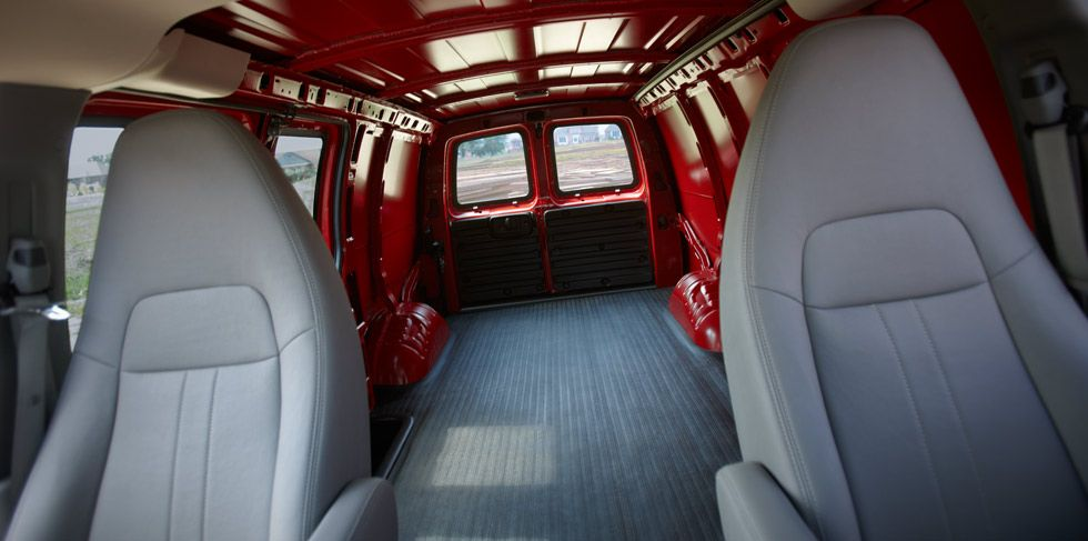 2014 Express Work Van Cargo Van Chevrolet Cargo Van Chevy