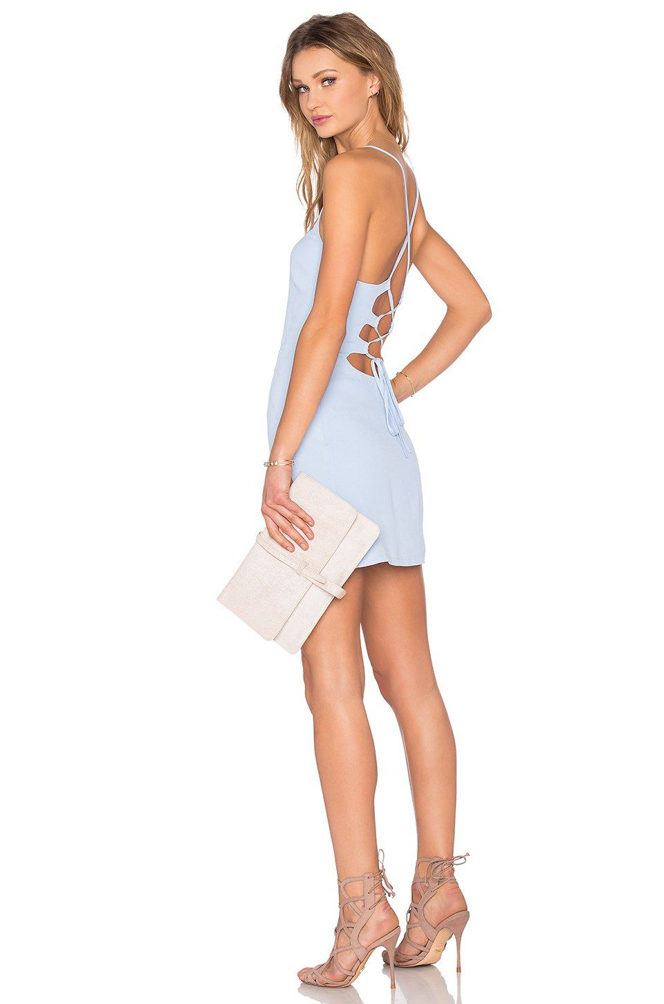29995887ba7 NBD x REVOLVE Lauren Bodycon Dress in Periwinkle
