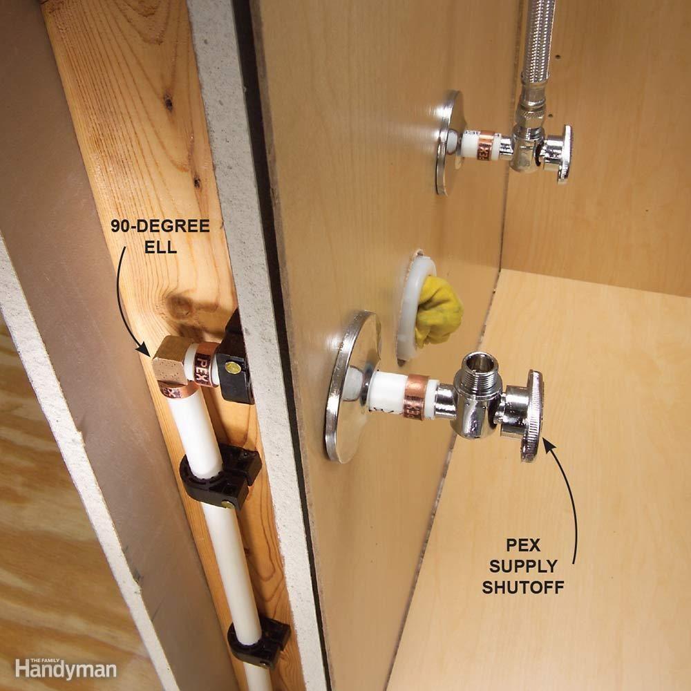 Plumbing With Pex Tubing Plumbing Pex Tubing Bathroom