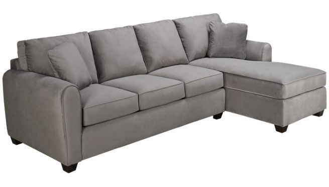 Charmant Bauhaus   Microfiber   2 Piece Sectional   Jordanu0027s Furniture