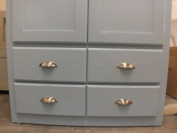 Best Large Painted Larder Cupboard With Spice Racks And 400 x 300