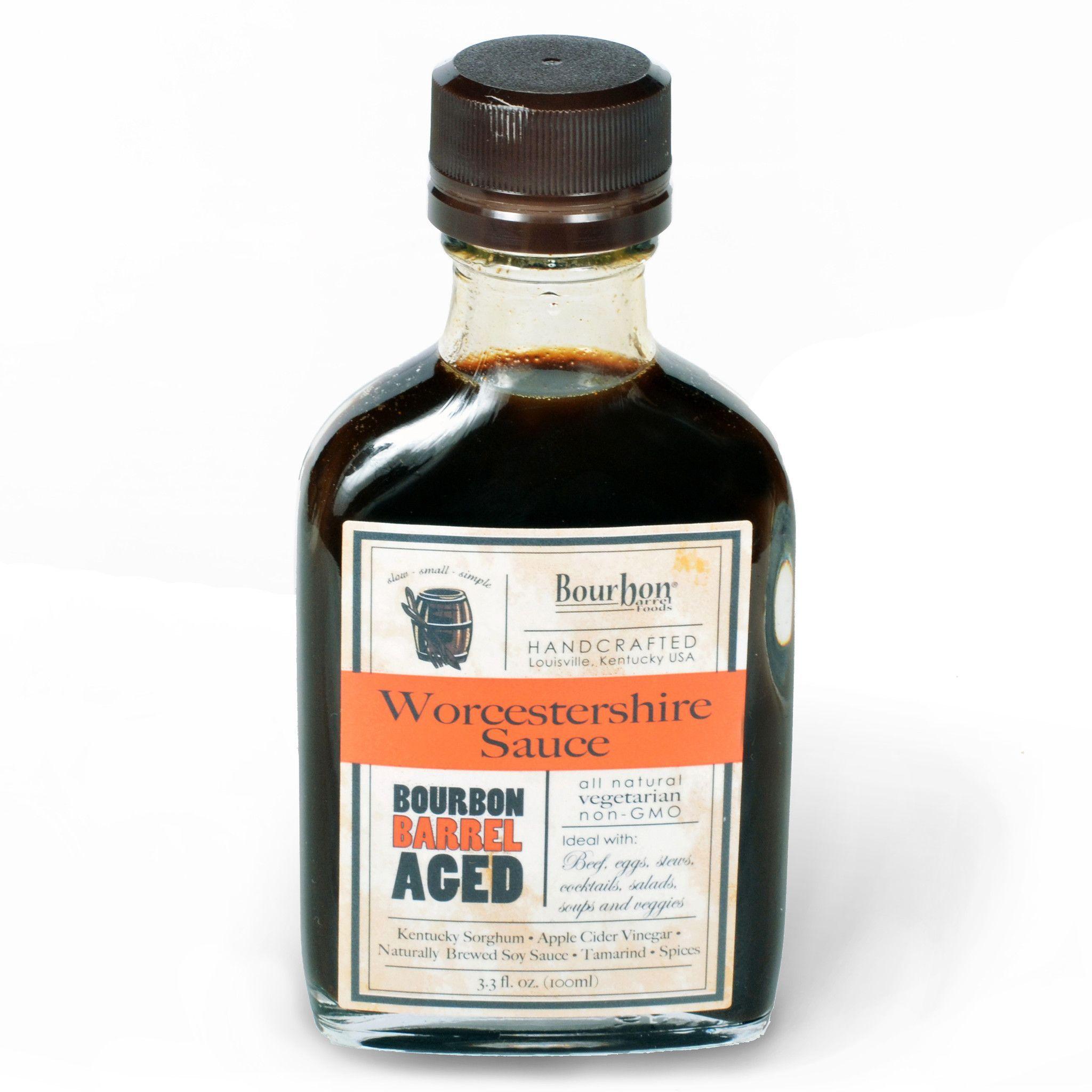 Bourbon barrel worcestershire sauce bourbon barrel