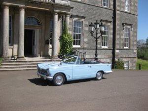 Vintage Wedding Car | Wedding Venues in D&G | Kippford Classic Car Hire